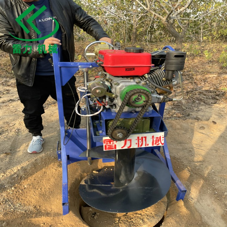 鑽樹坑機用柴油版有力耐(nai)用